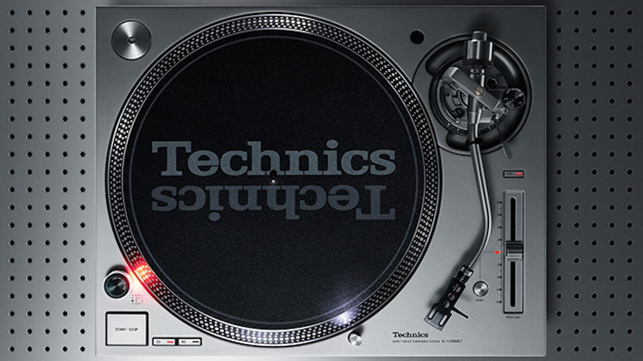 Technics SL-1200MK7PS Turntable