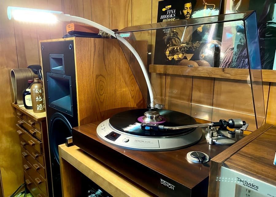 UberLight Flex with Denon DP-1200 Turntable