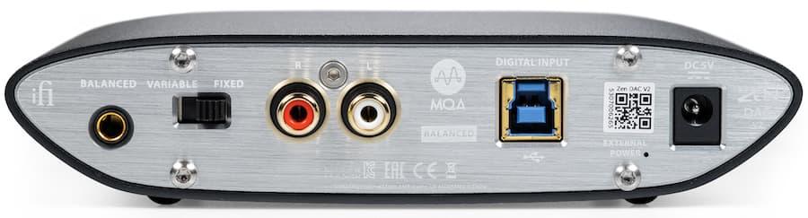 iFi Audio Zen DAC V2 Back