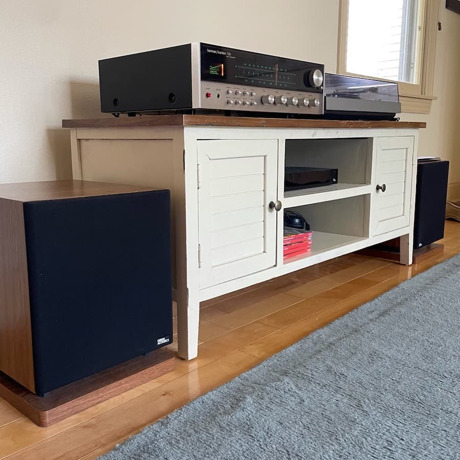 Completed Vintage Audio System