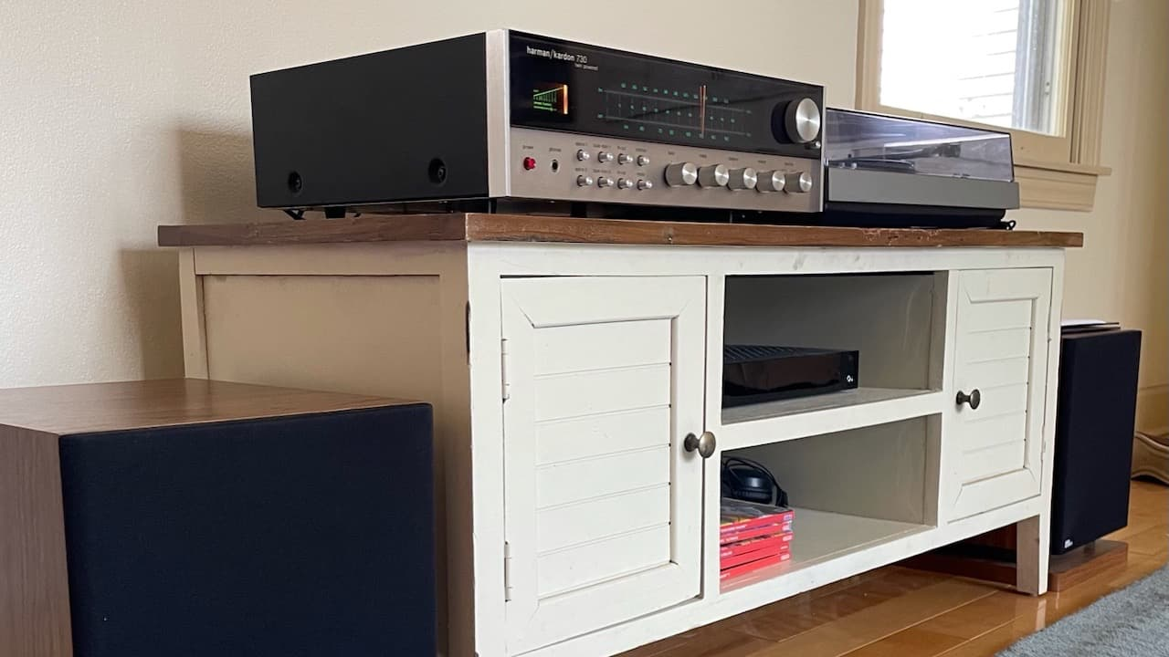 Sonos Replaced with Vintage Audio System