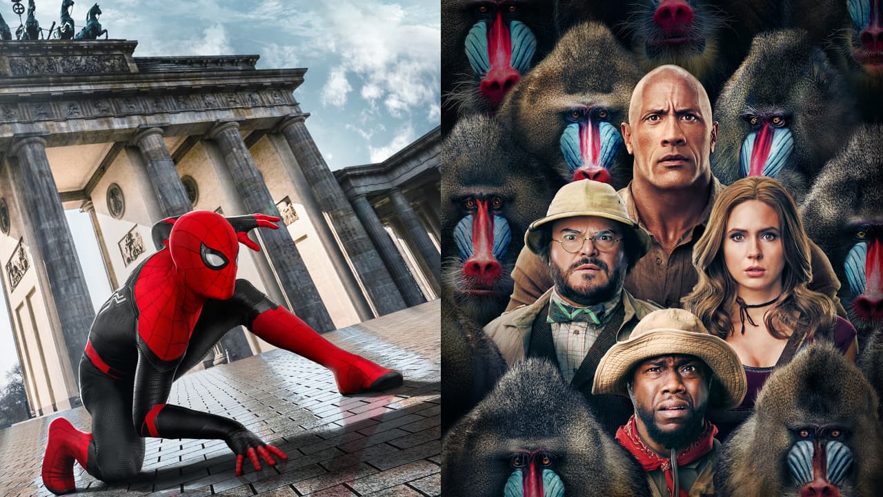 Spiderman Jumanji Movie Poster Crop