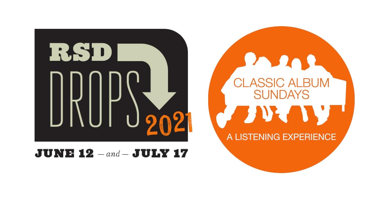 Record Store Day 2021 and Classic Album Sundays Logos