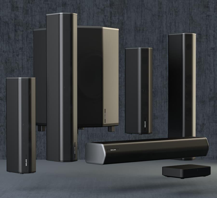 Enclave CineHome Pro THX Wireless Soundbar Speaker System