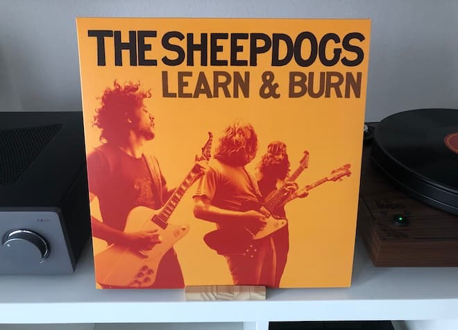 The Sheepdogs: Learn & Burn Album