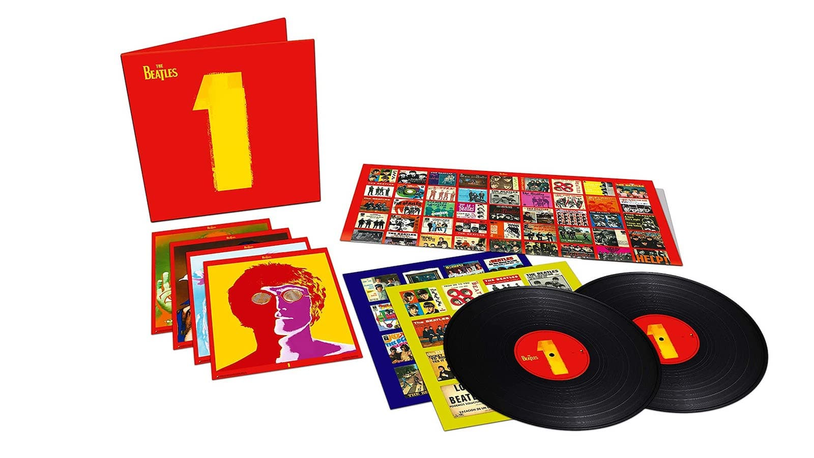 The Beatles 1 album set