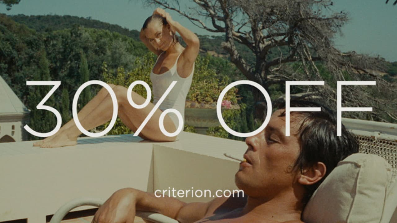 Criterion Collection Movies 30 Percent Off