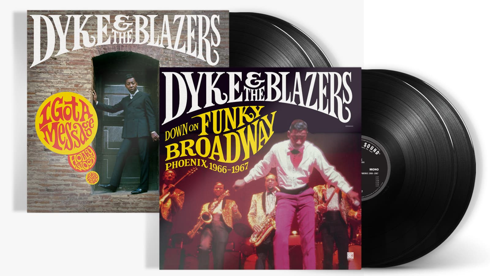 Dyke & The Blazers Record Albums