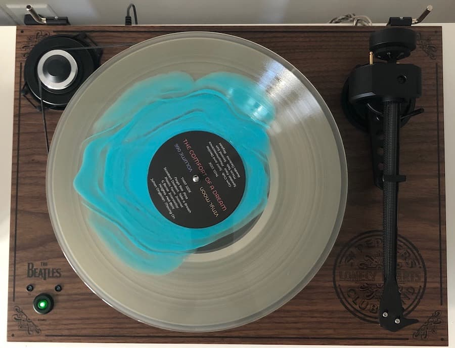 The Comfort of a Dream Record on Turntable