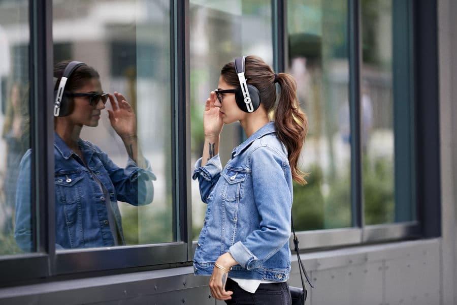 Sennheiser Momentum Headphones 3rd gen woman lifestyle