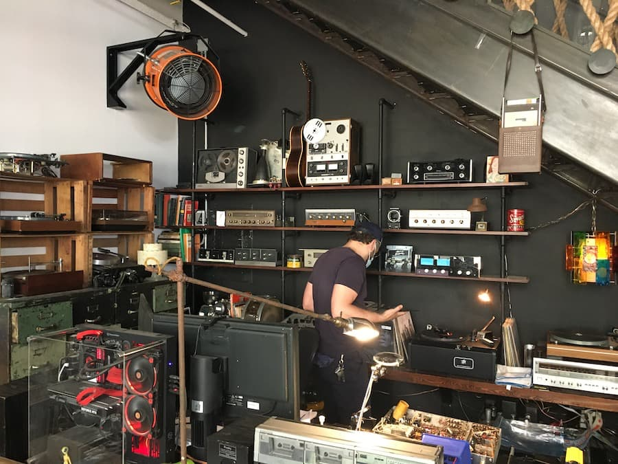 HiFi Provisions Vintage Audio Store in Brooklyn, NY