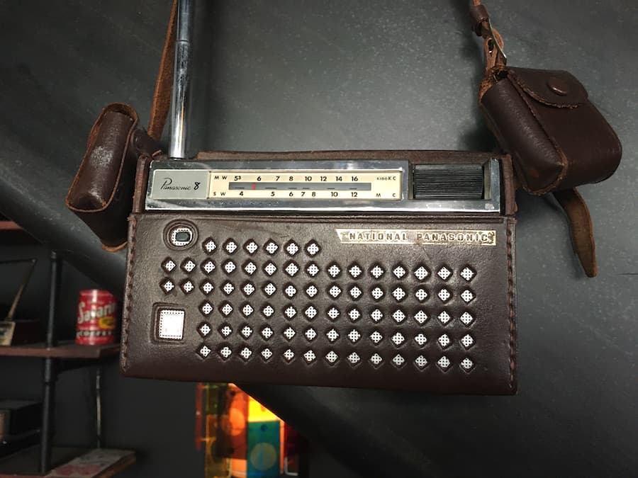 National Panasonic 8 Portable Radio