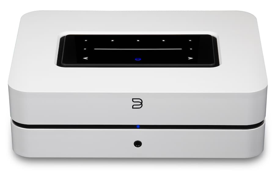 Bluesound POWERNODE Amplified Music Streamer Front