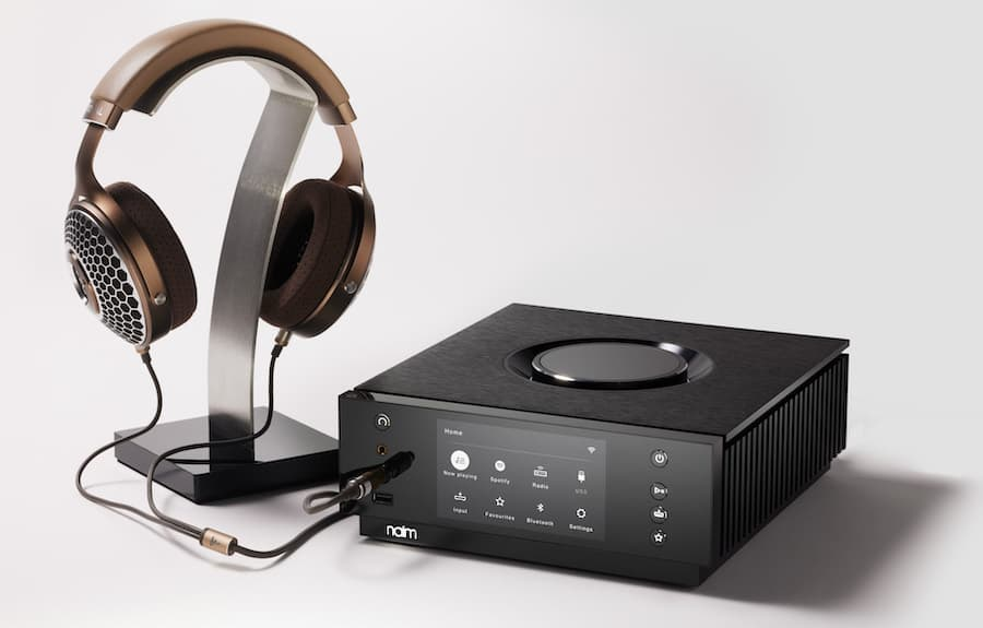 Naim Uniti Atom Headphone Edition with Focal Clear MG Headphones