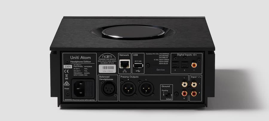 Naim Uniti Atom Headphone Edition Back