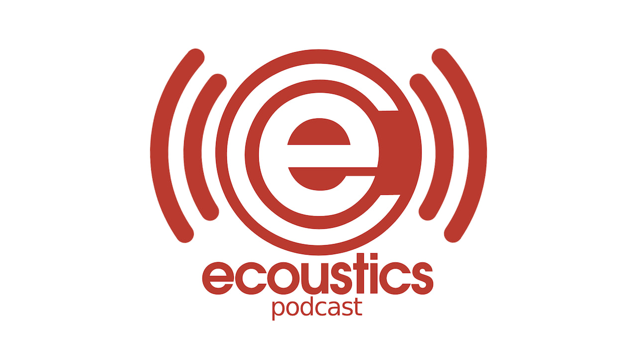 the ecoustics podcast logo