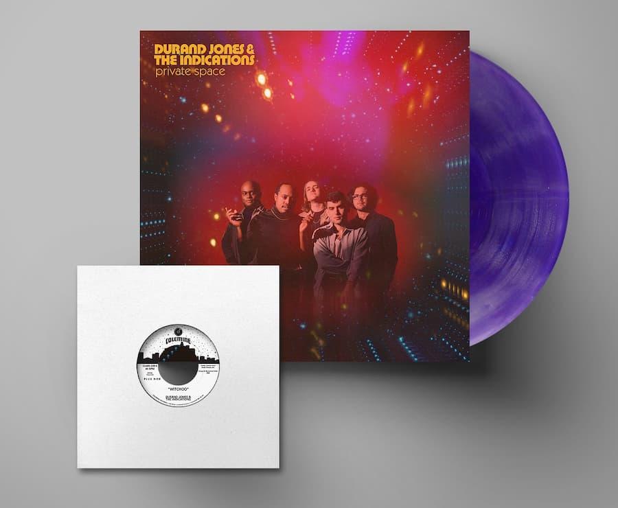 Durand Jones & The Indications Purple Album with 7-inch