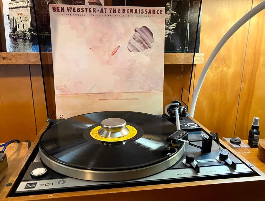 Ben Webster At the Renaissance Record Album