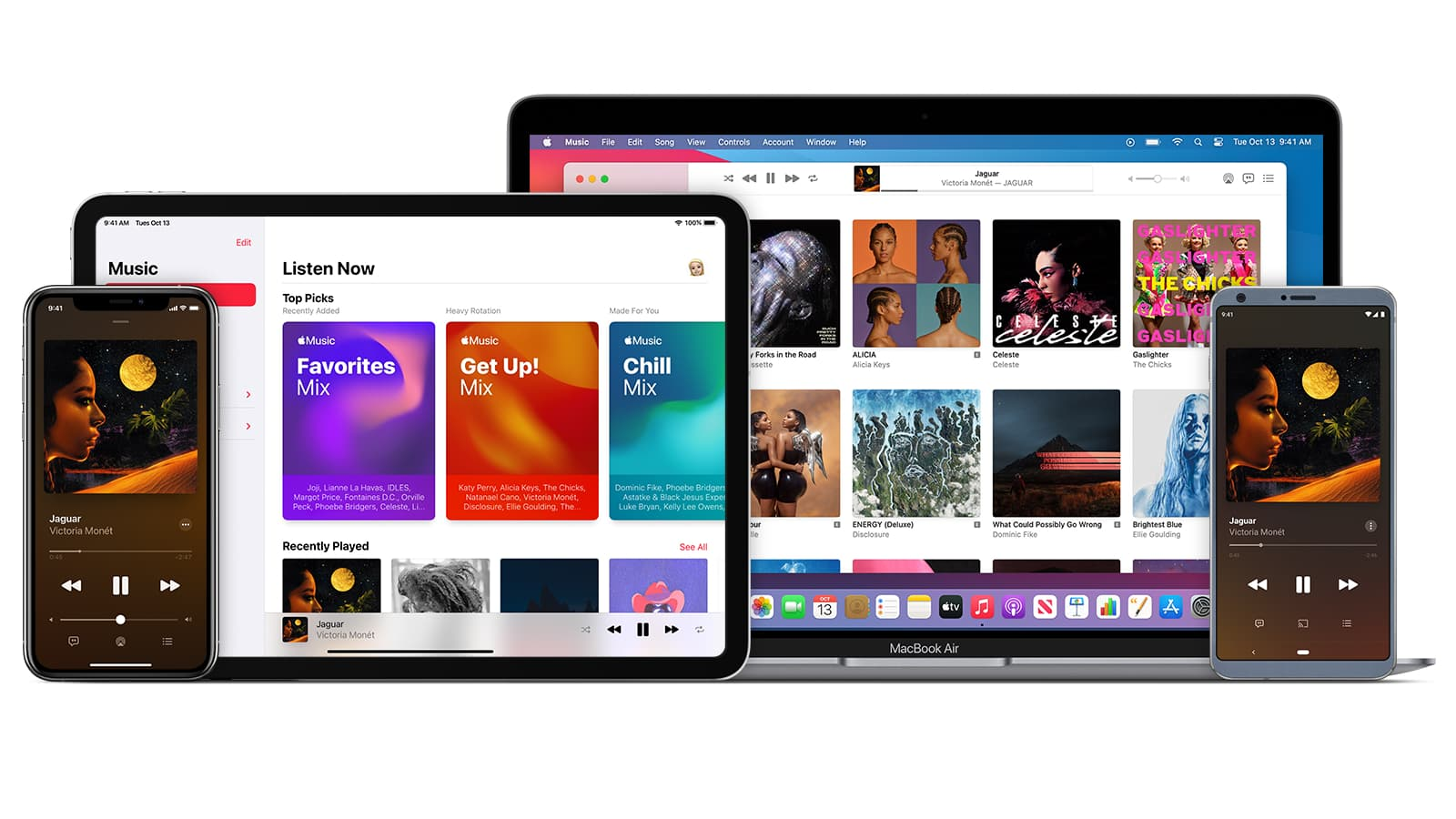 Apple Music Device Screenshots 2020