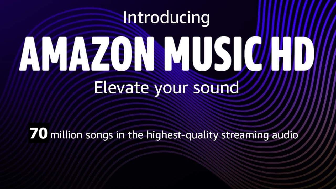 Amazon Music HD 70 Million Songs