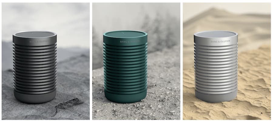 Bang & Olufsen Beosound Explore Portable Speaker Colors