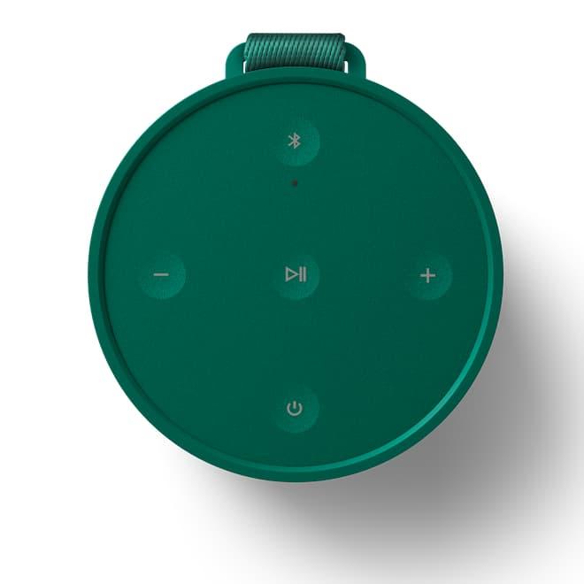 Bang & Olufsen Beosound Explore Portable Speaker Green Top