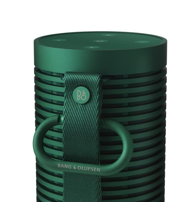 Bang & Olufsen Beosound Explore Portable Speaker Green Back