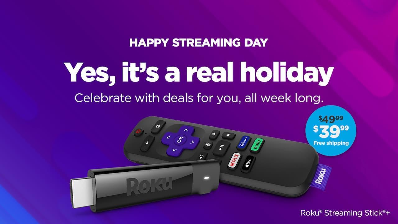Roku National Streaming Day Sale