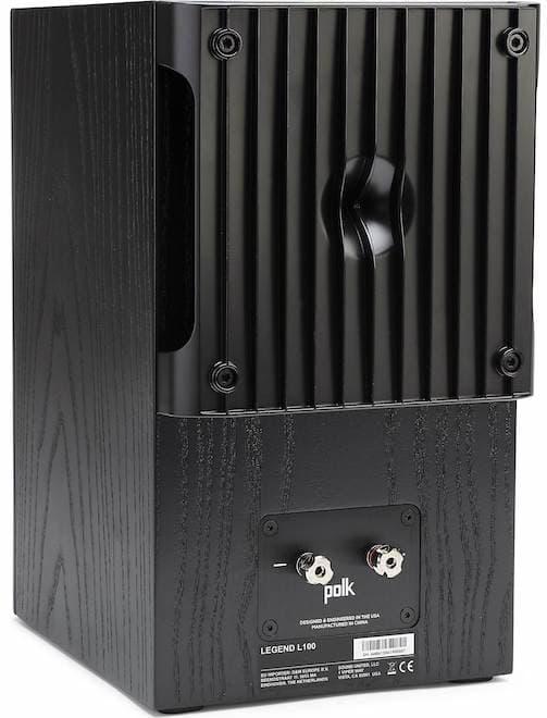 Polk Audio Legend L100 Bookshelf Speaker Back in Black