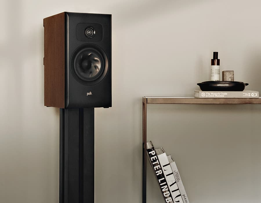Polk Audio Legend L100 Stand-mount Speaker in Walnut