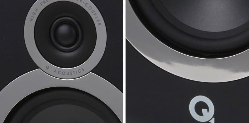 Q Acoustics 3030i Bookshelf Speaker Detail