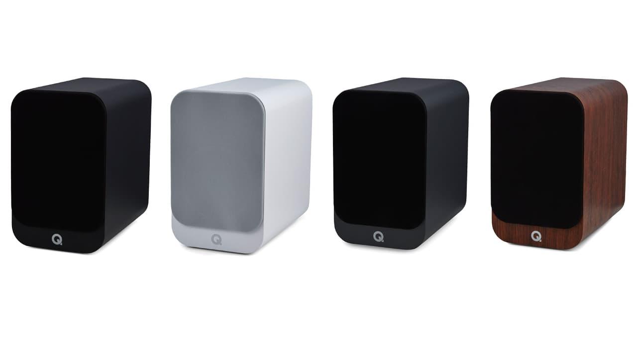 Q Acoustics 3030i Bookshelf Speaker Colors
