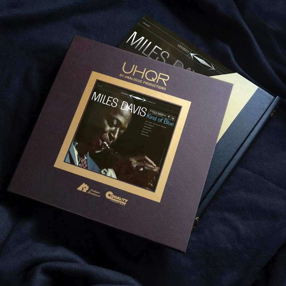 Miles Davis' Kind of Blue UHQR Album Package