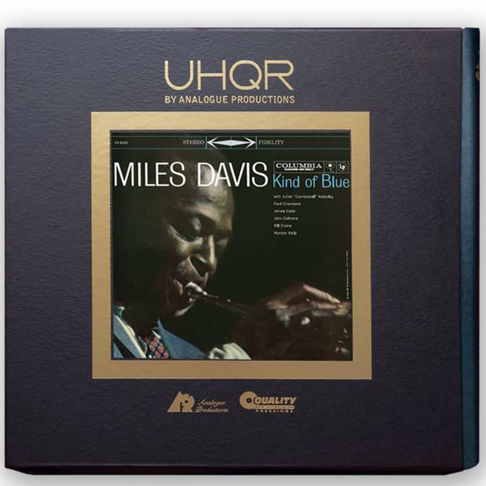 Miles Davis' Kind of Blue UHQR Album Cover