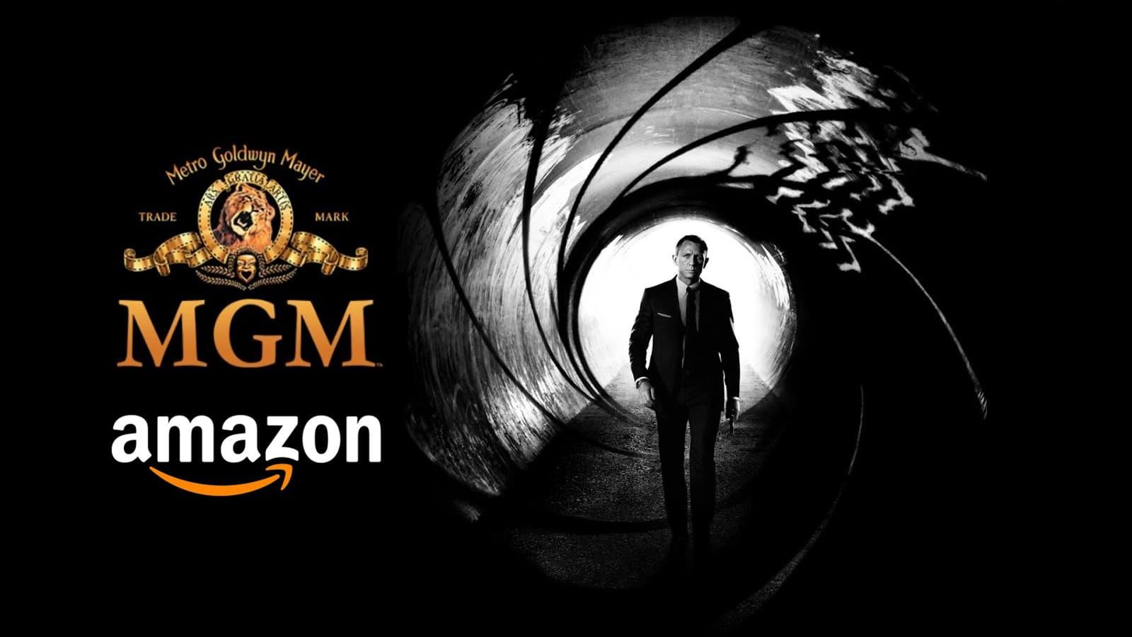 Amazon to buy MGM Studios, James Bond Movie