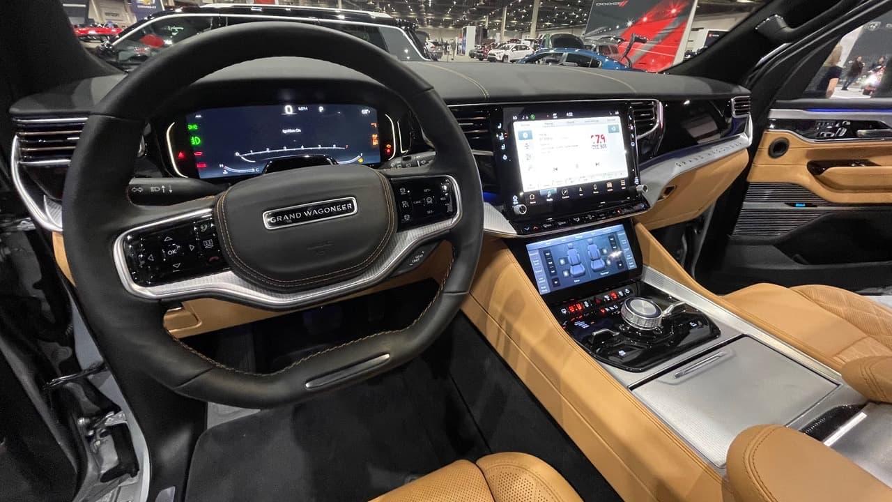 McIntosh MX1375 Car Audio System in 2022 Jeep Grand Wagoneer