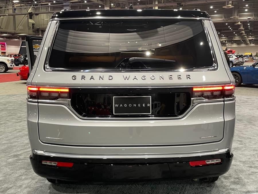 2022 Jeep Grand Wagoneer Rear