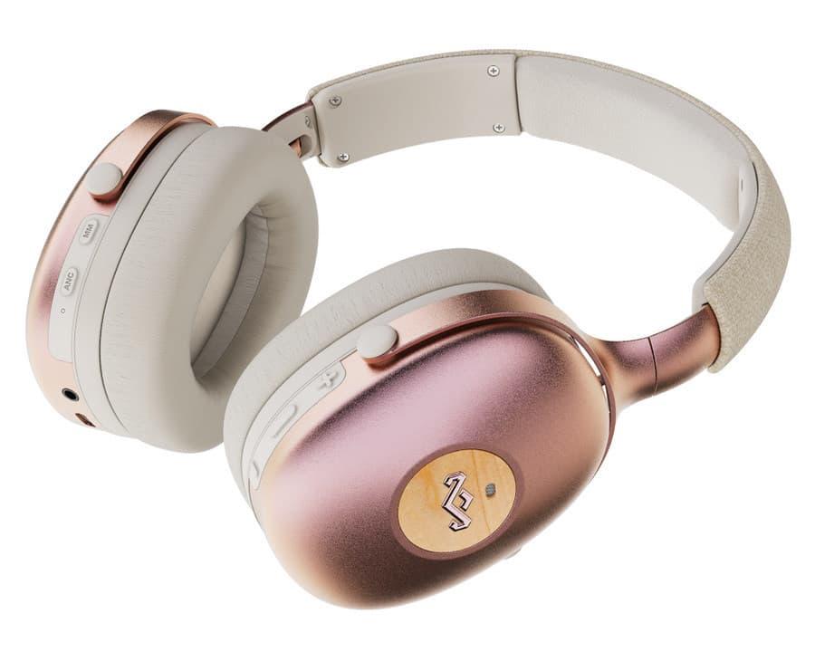 House of Marley Positive Vibration XL ANC Headphones Pink