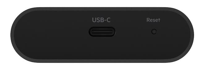 Belkin SOUNDFORM Connect Audio Adapter with AirPlay 2 USB-C rear input