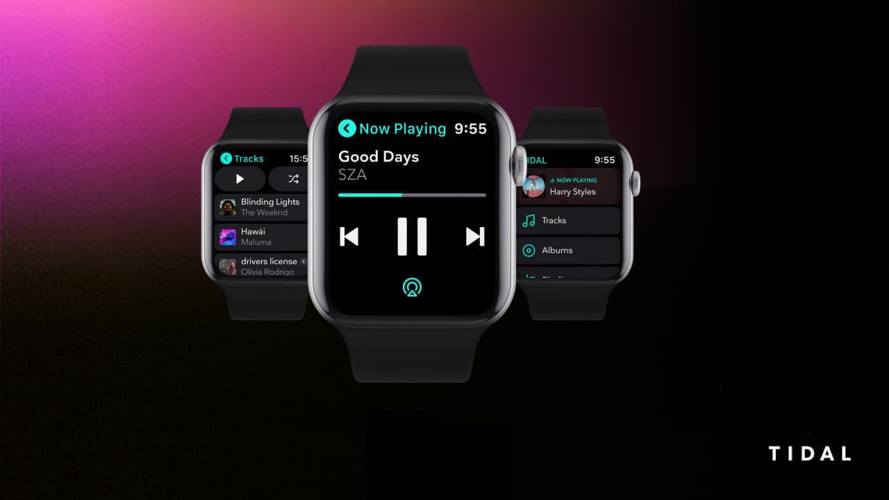 Tidal App on AppleWatch