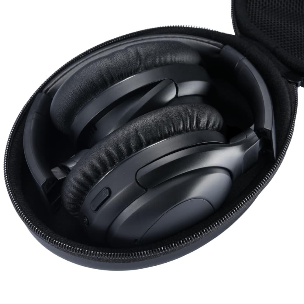 PuroPro Wireless Noise Cancelling Headphones in Travel Case