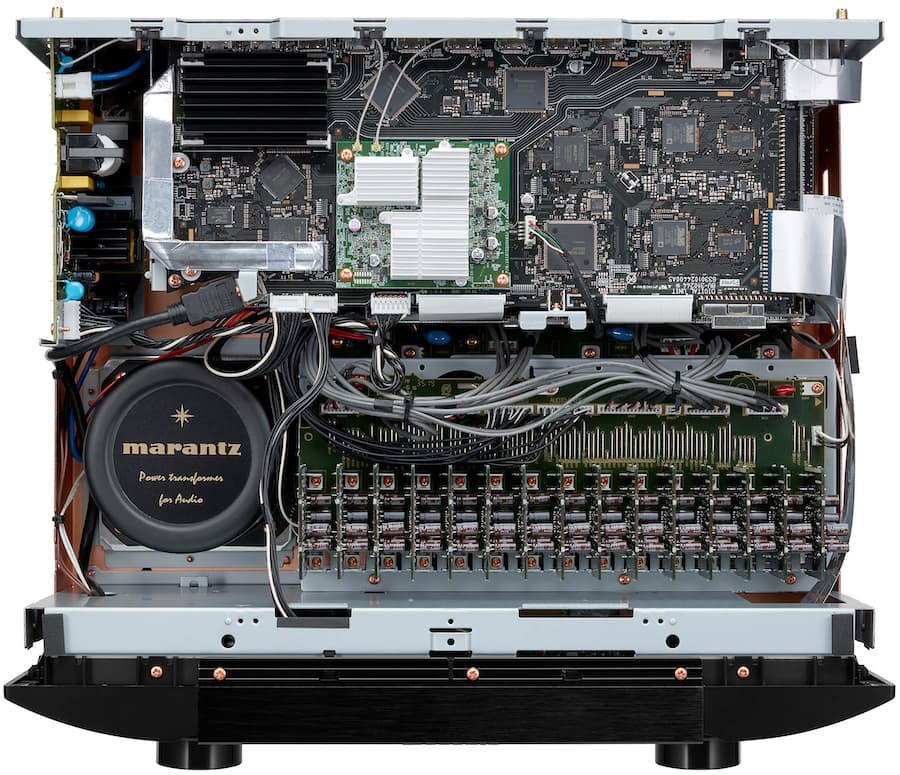 Marantz AV8805A A/V Preamplifier Top