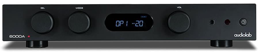 Audiolab 6000A Integrate Amplifier Front Black
