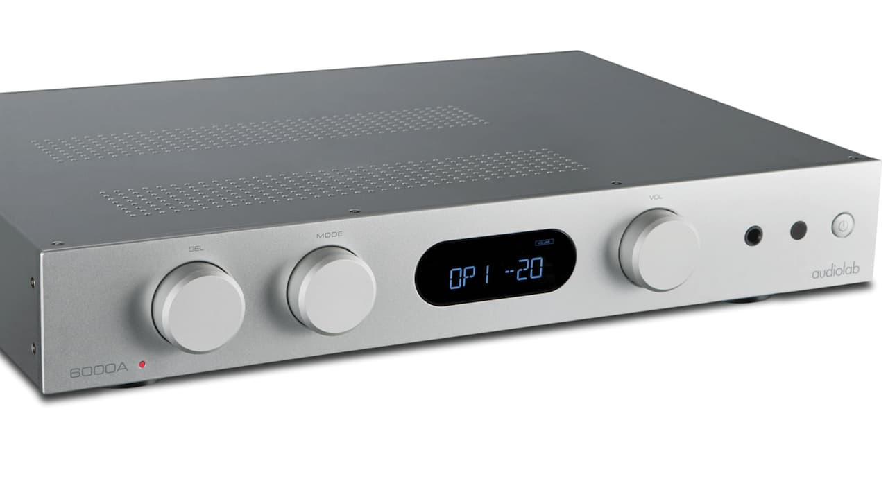 Audiolab 6000A Integrate Amplifier Silver