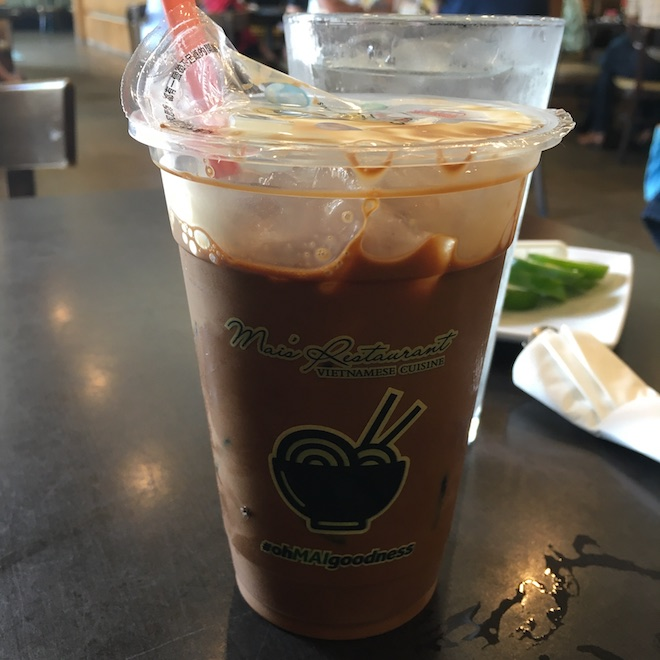 Mai's Houston Vietnamese Ice Coffee