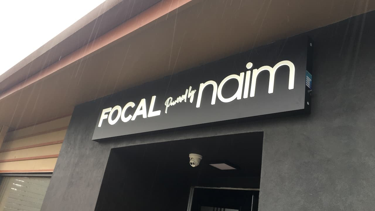Focal powered by Naim Houston Entrance
