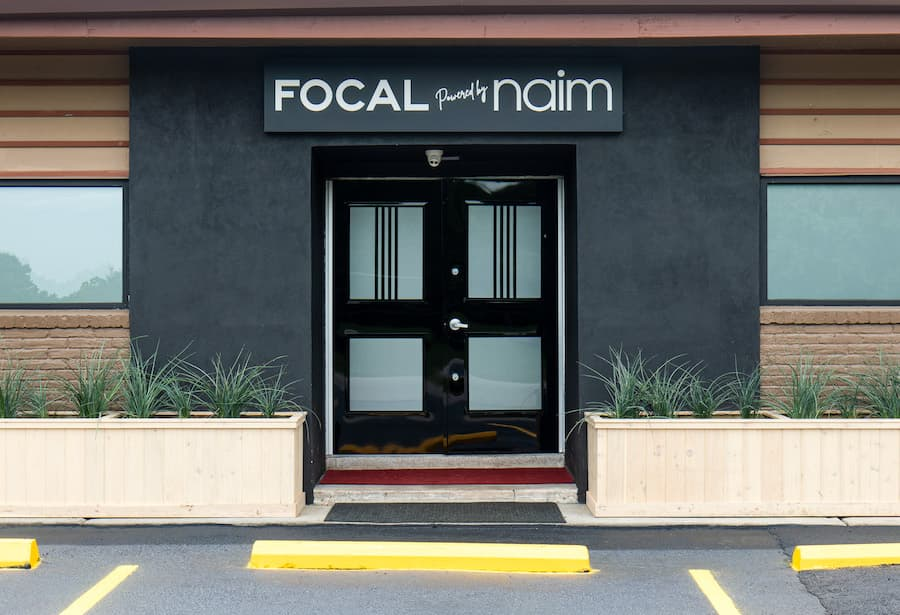 Focal powered by Naim Houston Front Door Entrance