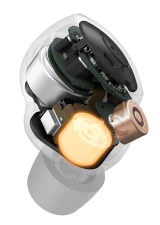 Sony WF-1000XM4 wireless earbuds internal