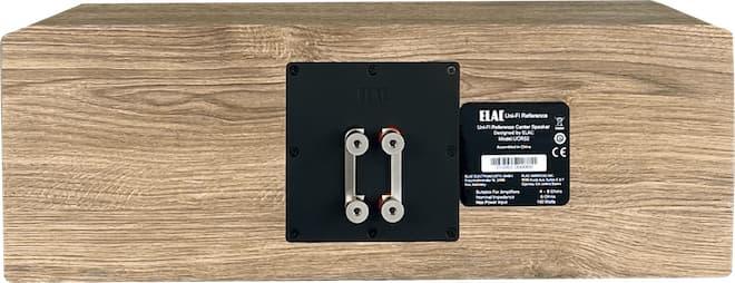 Elac UCR52 Center Speaker rear white oak