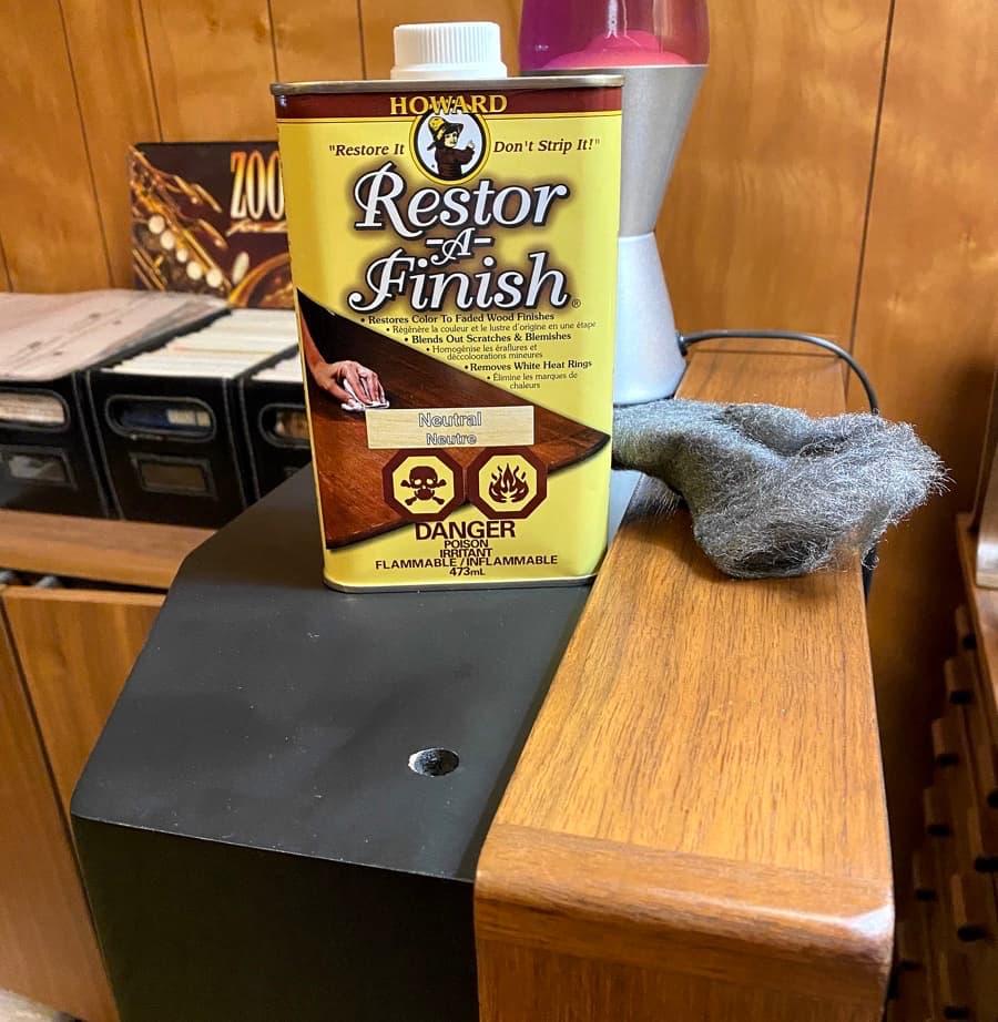 Refinishing ADS-L1230 Loudspeakers